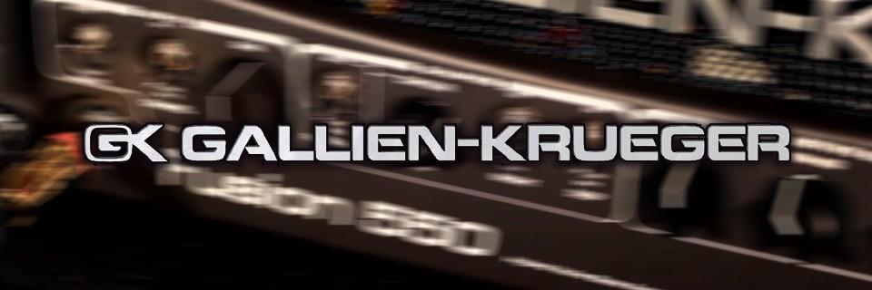 Amplificadores Gallien Krueger