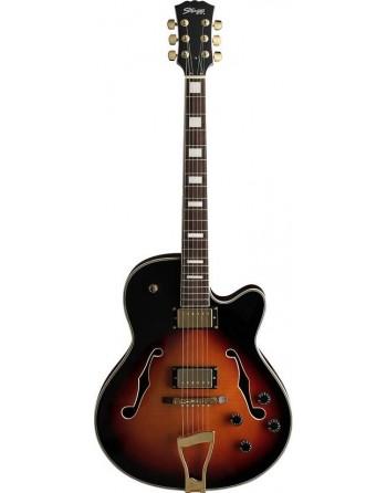 Guitarra Stagg A300 Jazz...