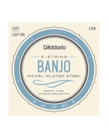 Cuerda para Banjo D`Addario 5...