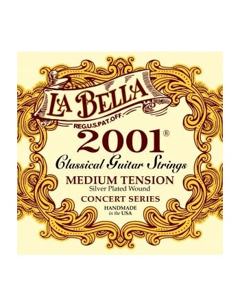 Cuerdas La Bella 2001 M - H Tension