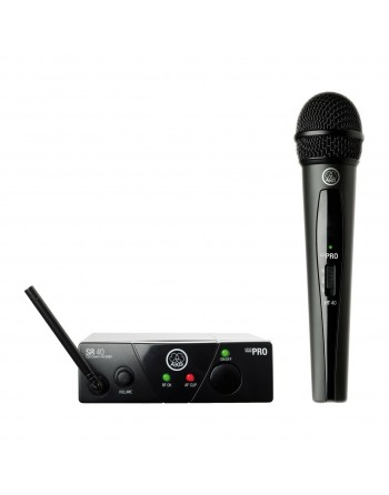 Micrófono vocal inalámbrico AKG...