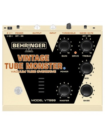 Pedal VINTAGE TUBE MONSTER VT999