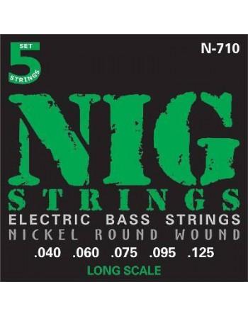 Cuerdas NIG para Bajo 5 cuerdas