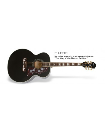 Guitarra Epiphone Acustica EJ-200