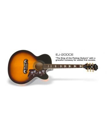Guitarra E/A Epiphone EJ200CE