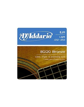 Cuerdas Guitarra Acustica de Bronce