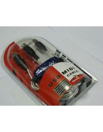 Cable Usb Midi